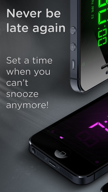 SpeakToSnooze - Alarm clock with voice control commands to snooze and turn off your alarm! screenshot-3