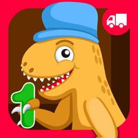 Dinosaur Number Train Game for Kids Free