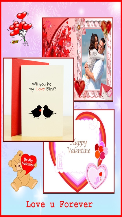Valentine Day Greeting Card Maker - Love Theme 2016