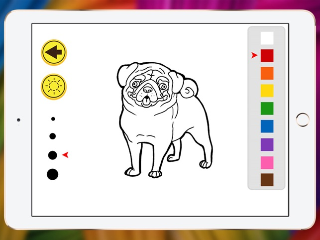 Welpen Malbuch Chihuahua für Kind zeigen im App Store