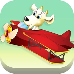 A puzzle game for kids: Willy the goat