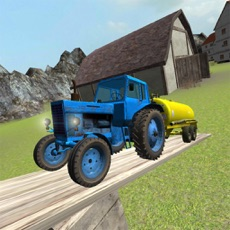 Activities of Toy Tractor Driving 3D