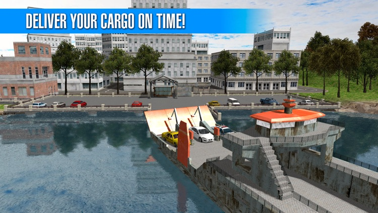 Cargo Ship Simulator: Car Transporter 3D Full screenshot-3