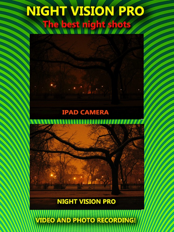 Night Vision Camera - True! HDR HD Real Green Binoculars Zoom with Private Folder Pro screenshot-4