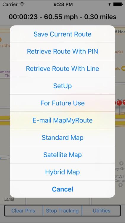 MapMyRoute screenshot-3