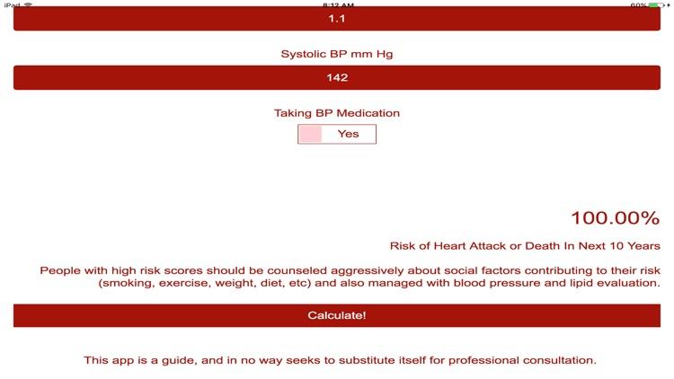 Heart Attack Risk Test