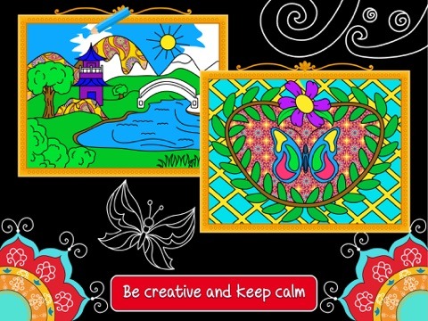 Balance Art Class Stress Relieving Coloring Book For Adults Free