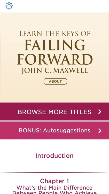 Failing Forward Meditations by John C Maxwell screenshot-1