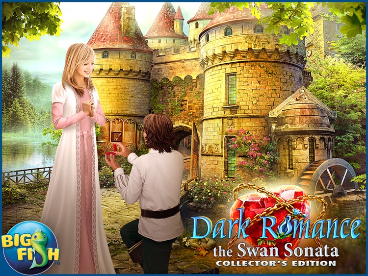 Dark Romance: The Swan Sonata HD - A Mystery Hidden Object Game (Full) screenshot-4
