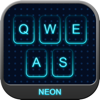 Neon Keyboard - Custom keyboards with colorful neon glow!