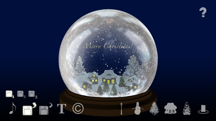 Pocket Snow Globe