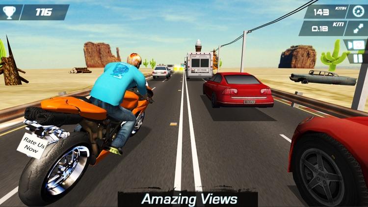 Race Moto in Traffic screenshot-3