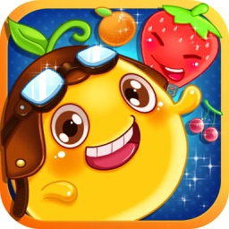 Happy Fruit Splash - Garden Match-3