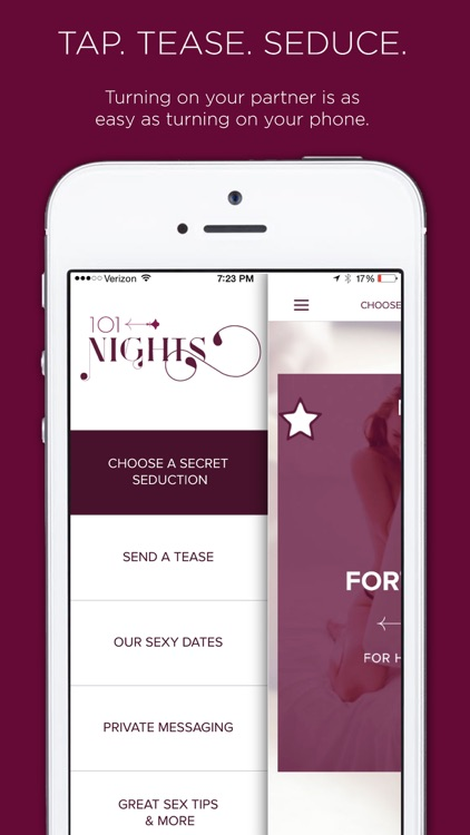 101 Nights of Great Sex - App for Couples