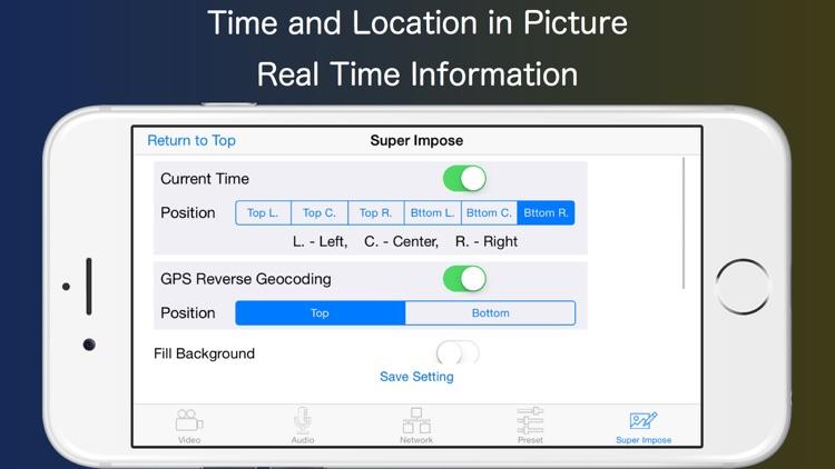 Live-Reporter Security Camera screenshot-4