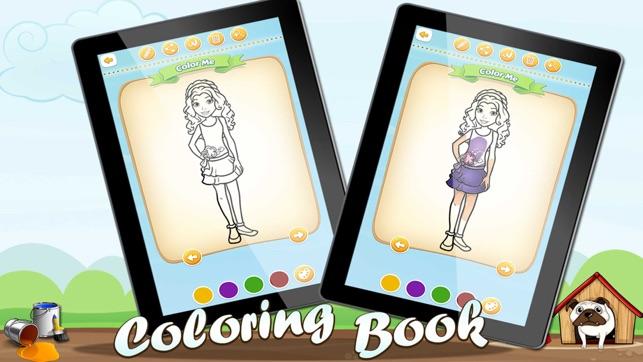 Ideas para colorear para los amigos del lego gratuitas en App Store