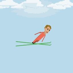 Pixel Ski Jump