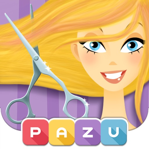 Girls Hair Salon - Hair Style & Makeover Game for Kids, by Pazu