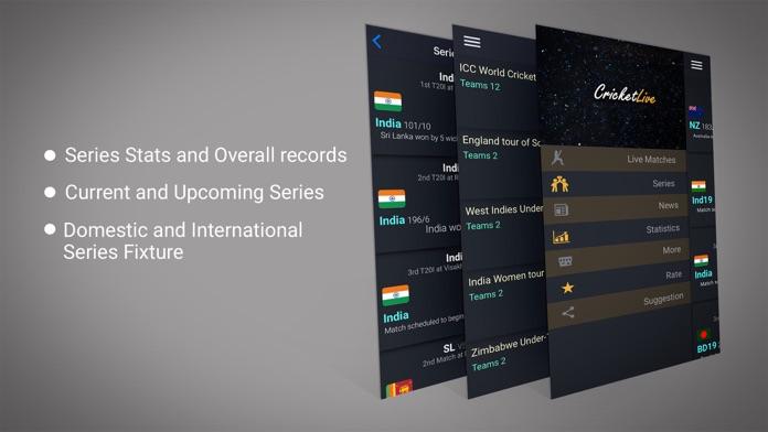 CrickHub: Live Cricket Scores and News IPL Special Screenshot