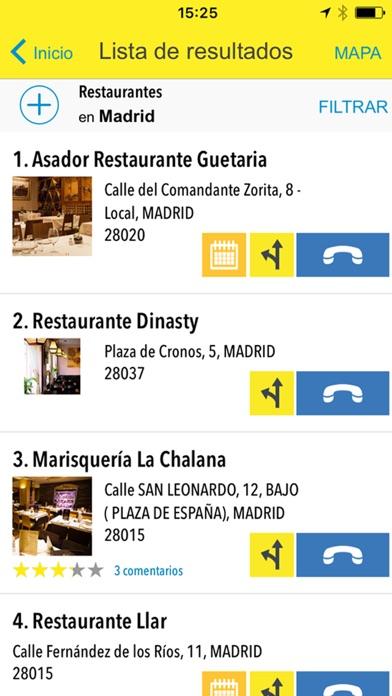 download Páginas Amarillas España apps 2
