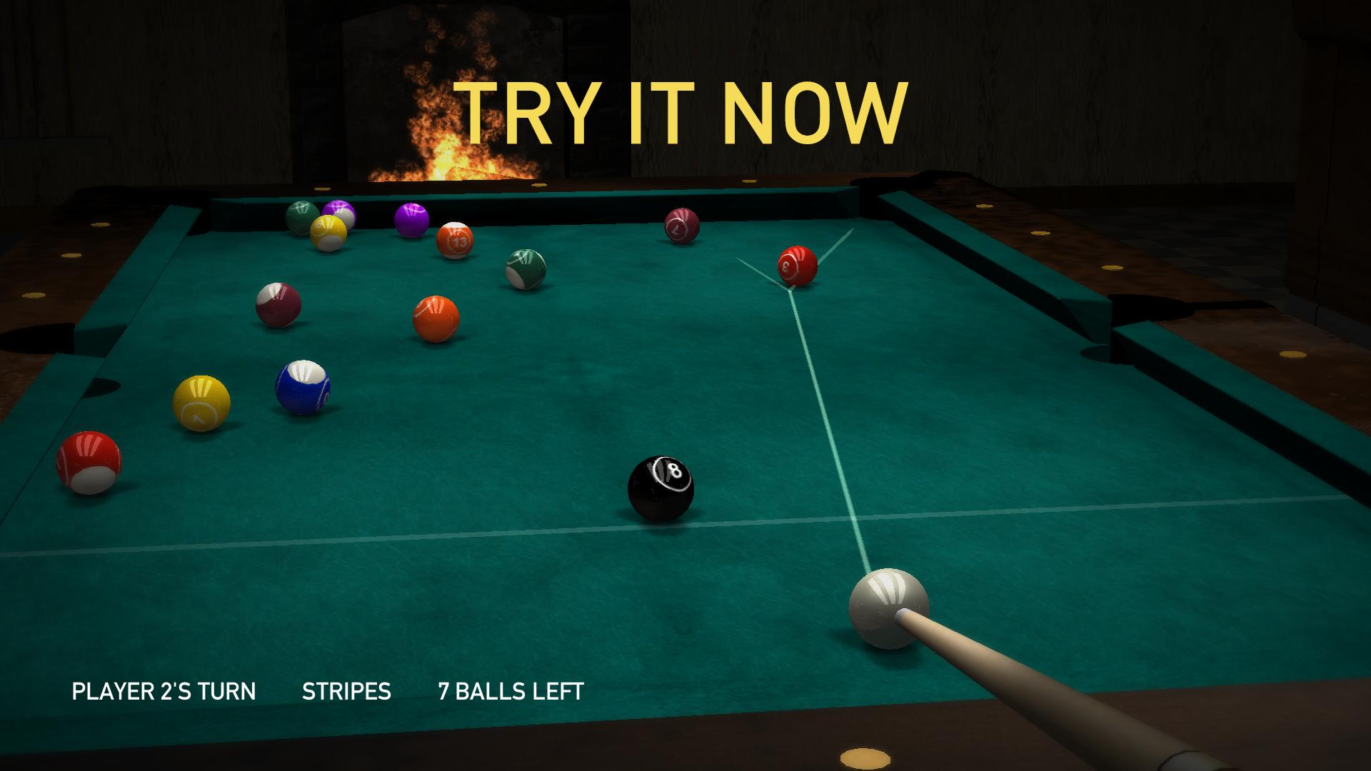 Pool HD —Eight Ball Multiplayer Billiards Game screenshot 3