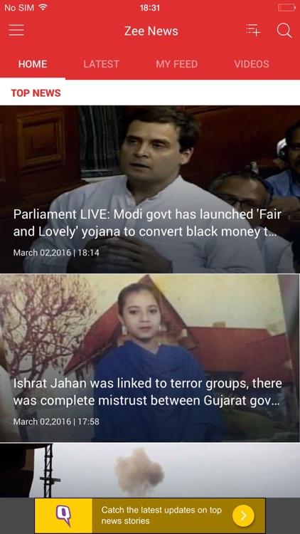 ZeeNews App: Live News Updates