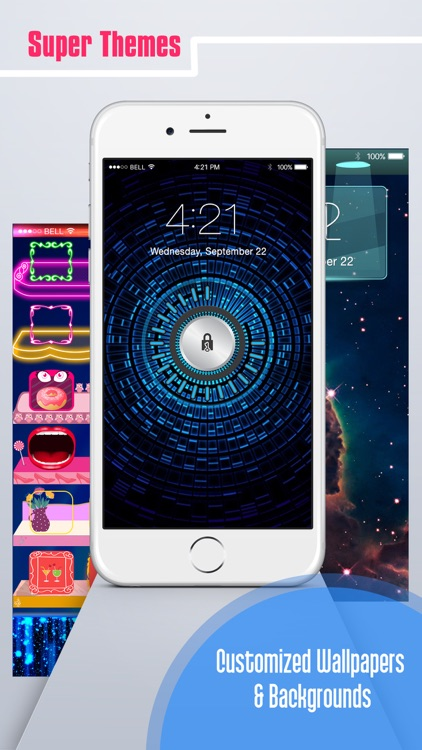 Lock Screen Wallpapers,Status Bar Wallpapers & Backgrounds for iPhone, iPad & iPods