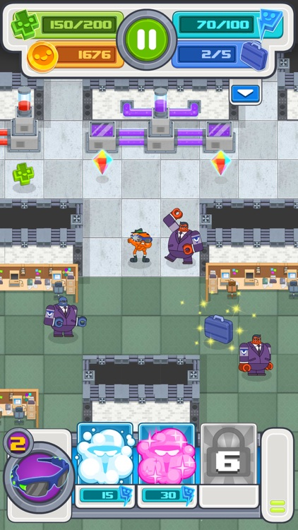 Agent Gumball - Roguelike Spy Game screenshot-1