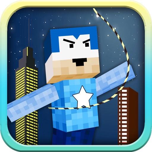 Swing Hero - Superhero Rope n Fly Adventure Game