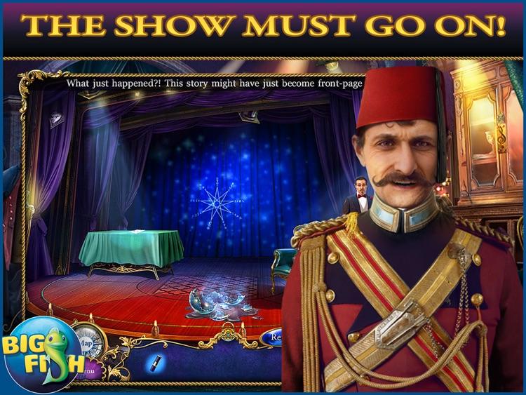 Dangerous Games: Illusionist HD - A Magical Hidden Object Mystery (Full) screenshot-0