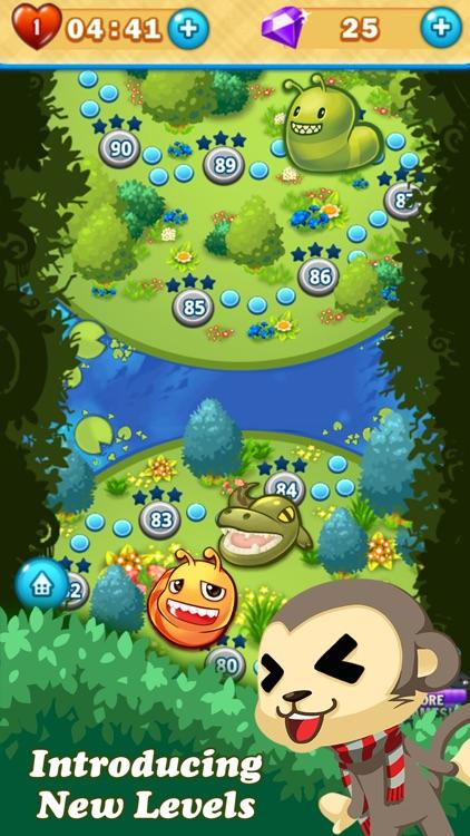 Monkey Fruits Crush screenshot-3