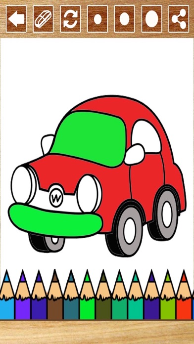 Cars Drawing Pad For Kids And Toddlers screenshot four