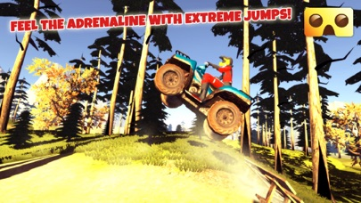 VR Quad Riding Game : Extreme Virtual Reality Games For Google Cardboardのおすすめ画像3