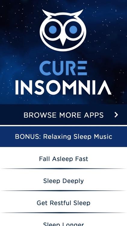 Cure Insomnia Hypnosis