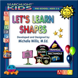 Searchlight® Kids: Let's Learn Shapes