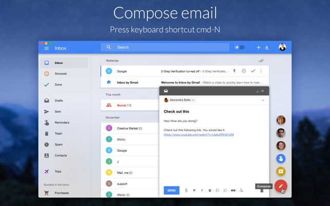 ‎QuickBox for Google Inbox on the Mac App Store
