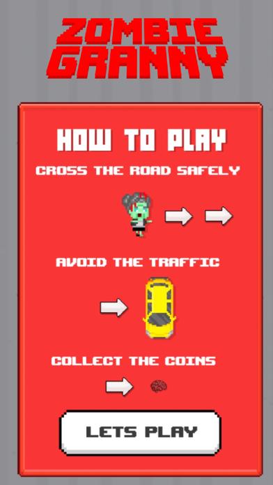 Zombie Granny Crossing screenshot two