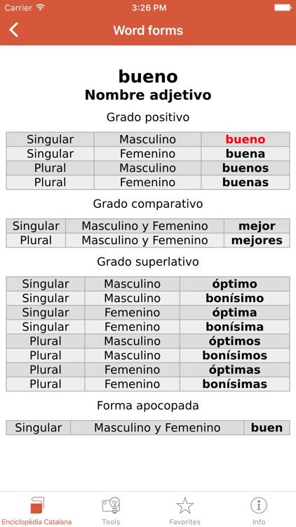 Advanced Spanish-Catalan Catalan-Spanish Dictionary from Enciclopèdia Catalana screenshot-3