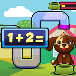 Dog Kid Game Number and Math