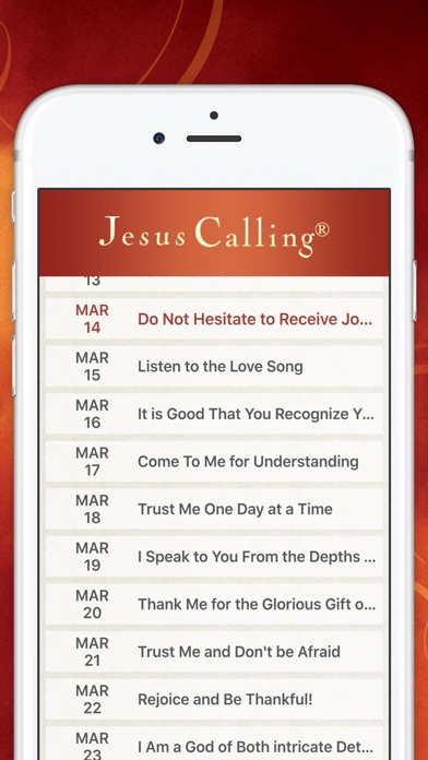 Jesus Calling Devotional review screenshots