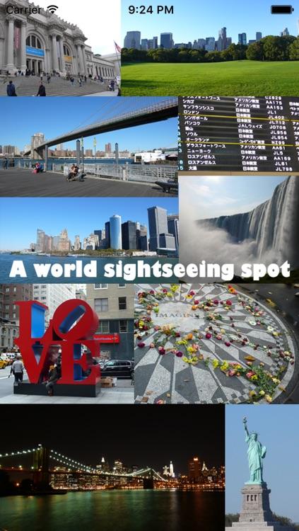 The world sightseeing spots