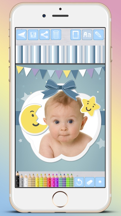 Photo frames for babies and kids for your album - Premium screenshot-4