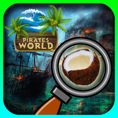 Pirates World Hidden objects adventure game : Search and Find objects
