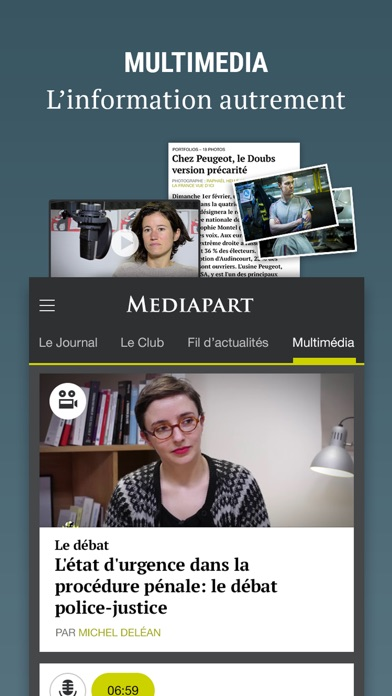 Mediapart review screenshots