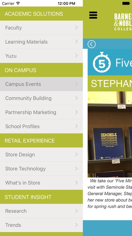 Barnes & Noble College: NEXT screenshot-4