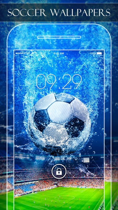 Soccer Wallpapers & Backgrounds HD - Home Screen Maker with