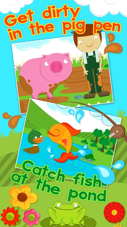 Farm Games Animal Games for Kids Puzzles for Kids screenshot-1