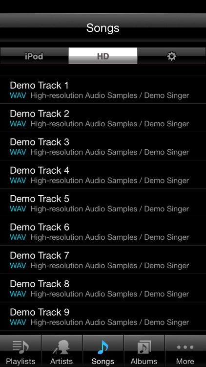 HR Audio Player for iOS