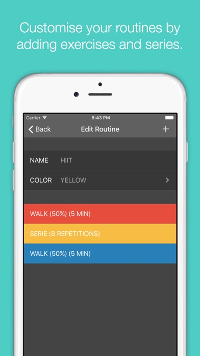 Timerly - Interval Timer for HIIT, Workouts, Tabata, and more! Screenshots