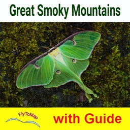 Great Smoky Mountains National Park  GPS and outdoor map with guide